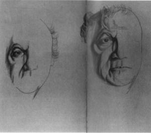 """ritratto figurativo e letterario di Federico Fellini (da """"Colloquio coi personaggi"""")"""